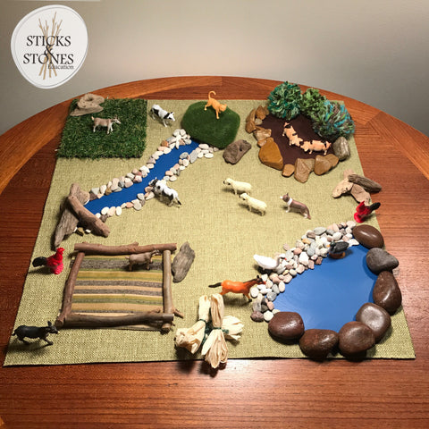 Little Landscape Farm - Sticks & Stones Education