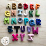 Felt Alphabet Letters - Sticks & Stones Education
