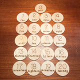 Numbers Discs - Sticks & Stones Education