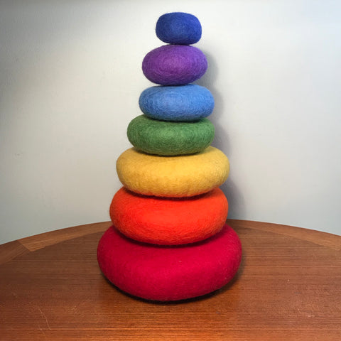 Stacking Stones Rainbow - Sticks & Stones Education