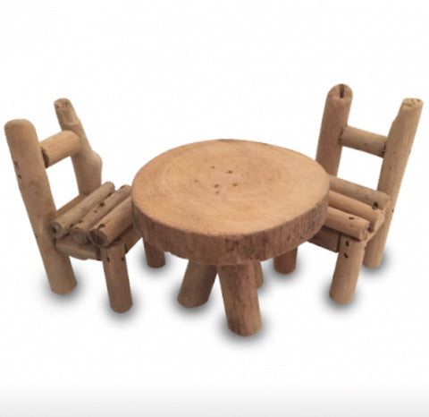 Woodland Table & Chairs - Sticks & Stones Education