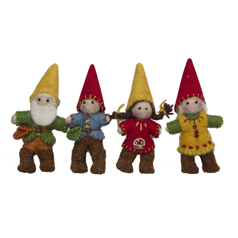 Felt Gnomes - Sticks & Stones Education