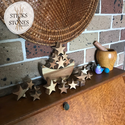 Moon and Stars Balancing Game