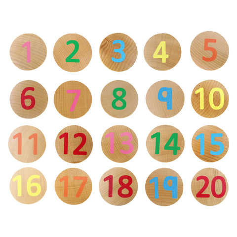 1-20 Numbers Matching Game
