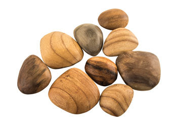 Wooden Pebbles - Sticks & Stones Education