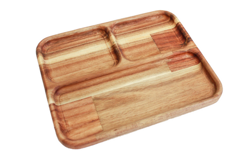 Wooden Sorting Tray - Square