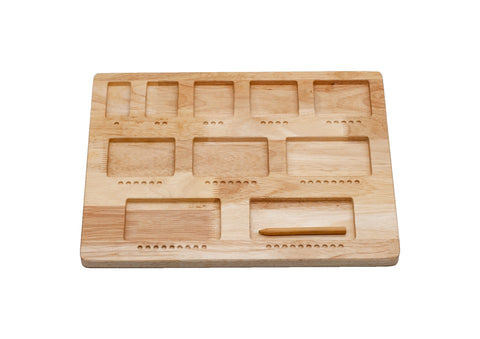 Wooden Double Sided Counting Board