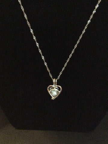 Package Deal: Oyster, Necklace Pendant w/ chain