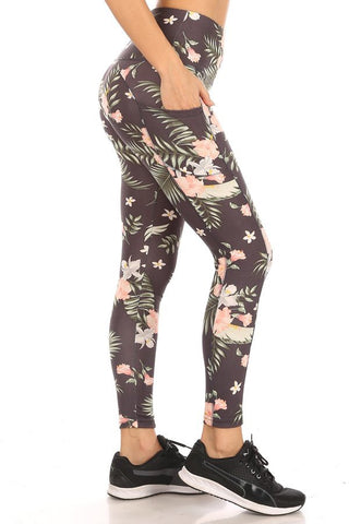 Floral Sport Leggings