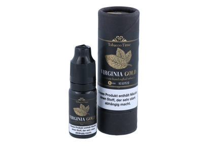 Tobacco Time - Virginia Gold - E-Zigaretten Liquid 0mg/ml