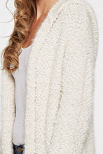 Load image into Gallery viewer, The Coziest Fuzzy Hooded Cardigan