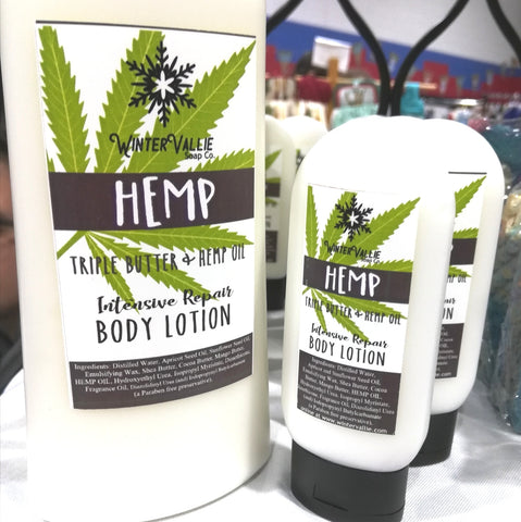 Hemp Triple Butter and Hemp Oil Creamy Lotion for body & hand