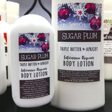 Sugar Plum Triple Butter and Apricot Kernal Creamy Lotion for body & hand