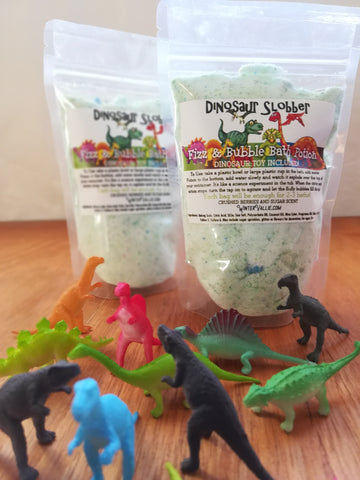 Dinosaur Slobber Bubble Potion Bag