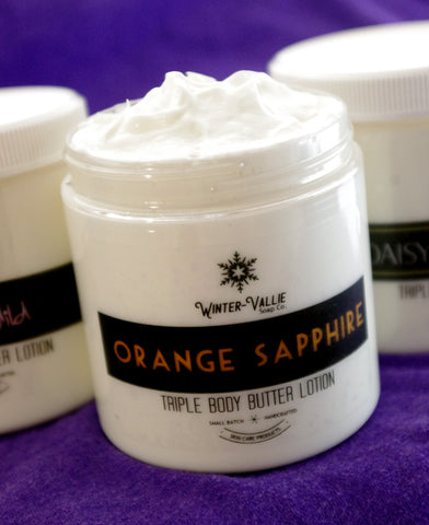Triple Body Butter Lotion Handcrafted Natural