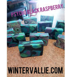 Psycho Black Raspberry Silk, Shea, Soap Handmade Handcrafted Artisan Soap