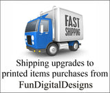 Faster Shipping for Printed invites add on