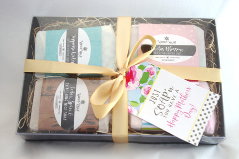 Gift Set Mix and Match of Silk, Shea, Soap Handmade Handcrafted
