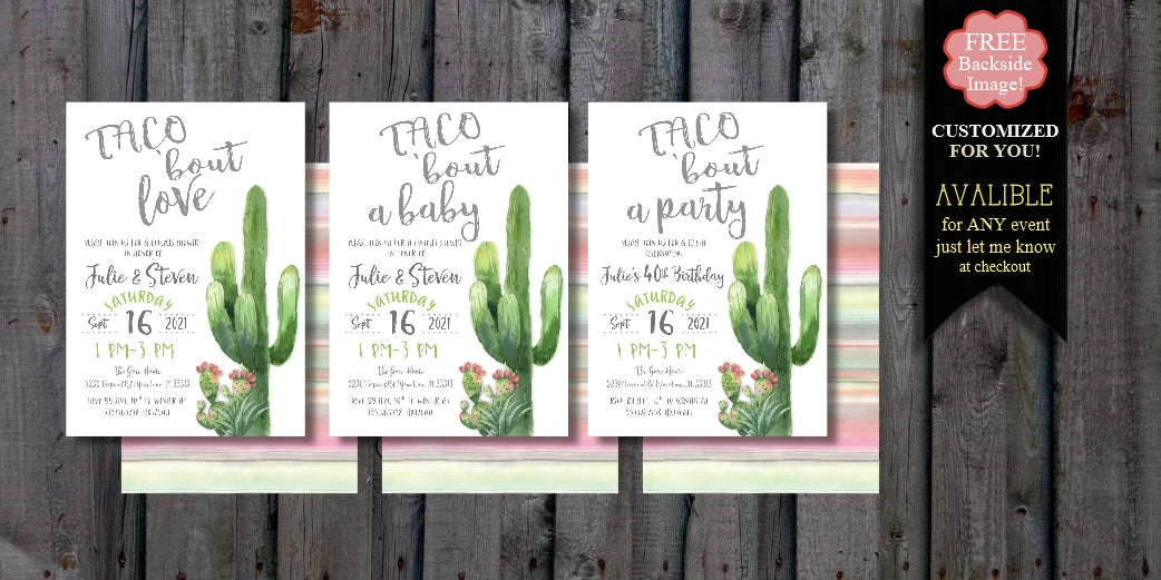 So you can spend your time planning the party!