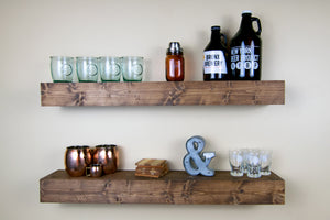 "Floating Wall Shelf | 5.5"" Deep"