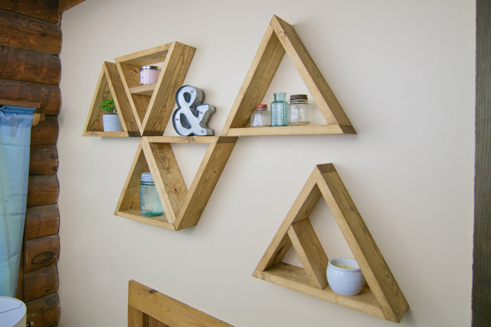 Triangle Shelves | 3.5