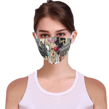 She Kills 3D Mouth Mask with Drawstring (15 Filters Included) (Model M04)