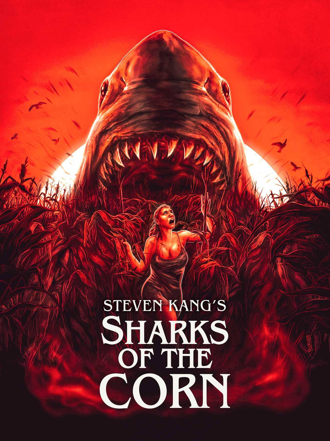 Sharks of the Corn Blu-ray
