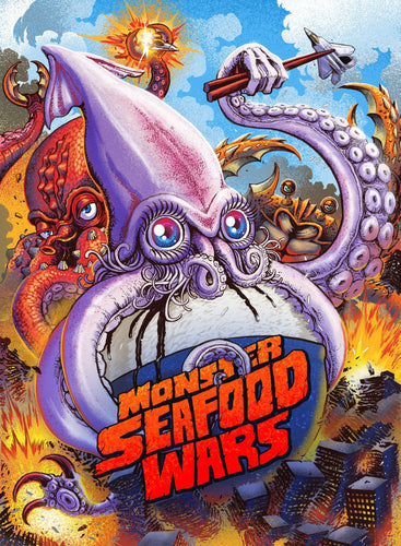Monster Seafood Wars Blu-ray