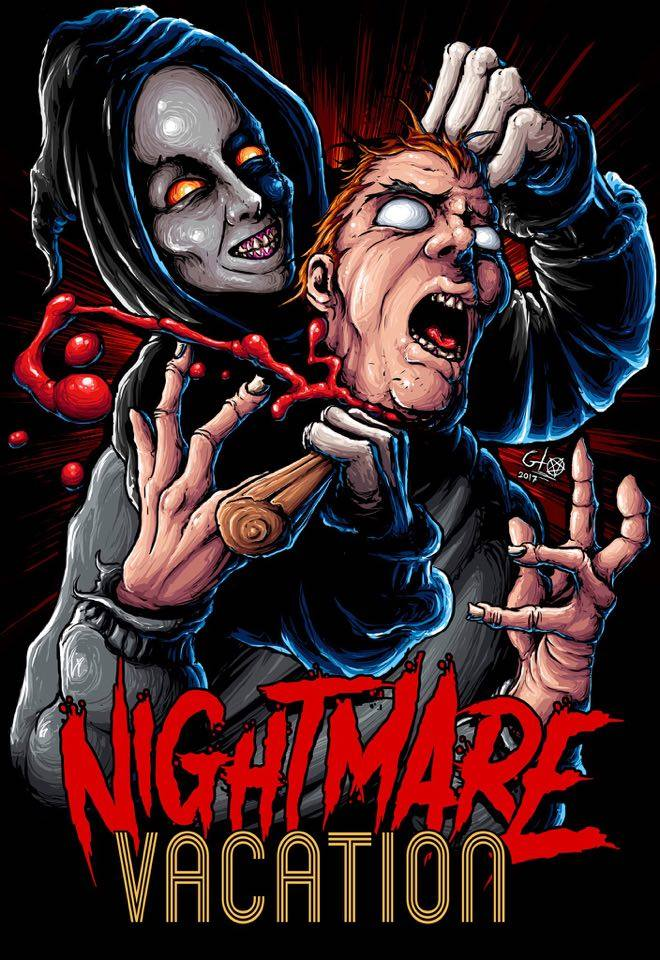 Nightmare Vacation VHS
