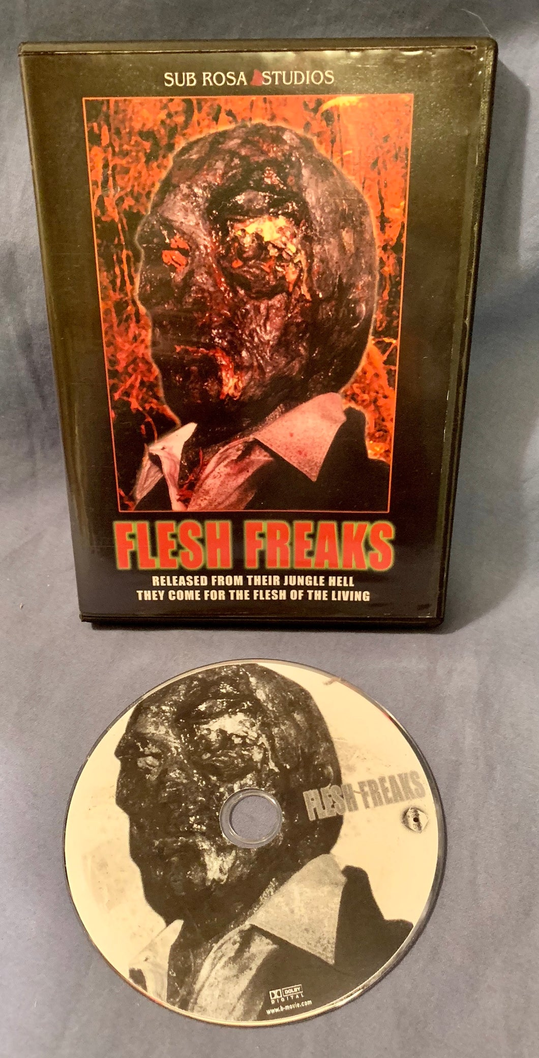 Flesh Freaks DVD - USED OOP