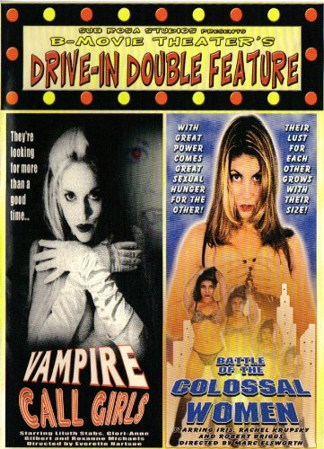 Vampire Call Girls / Battle of the Colossal Women DVD USED