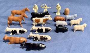 "Farm Animals Miniatures Lot used in ""She Kills"""