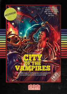 City of the Vampires Retro DVD