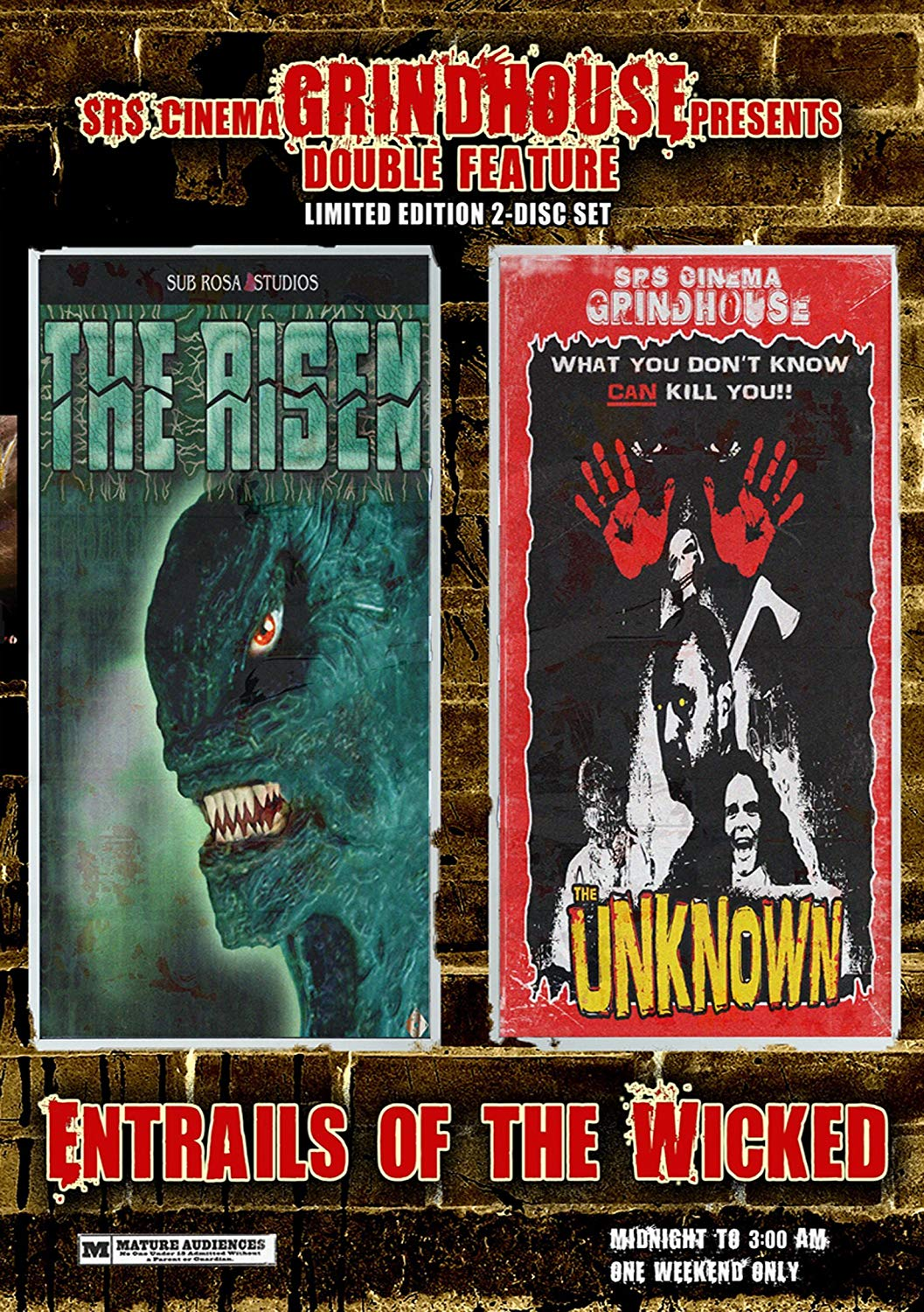 Entrails of the Wicked: The Risen/The Unknown