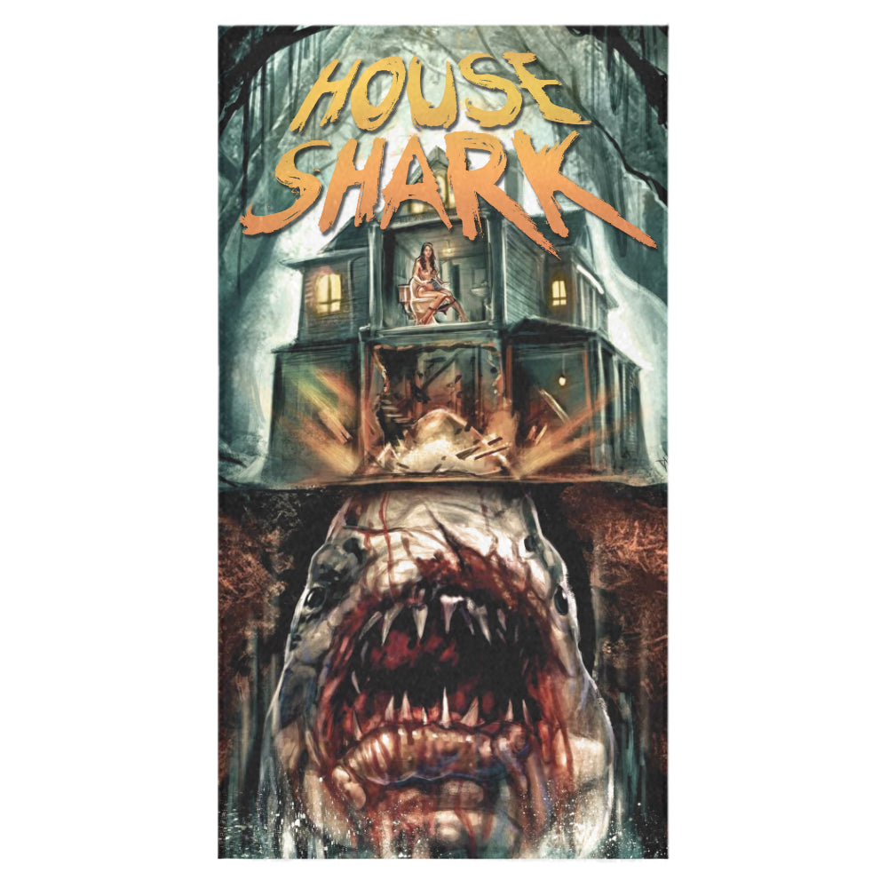 House Shark Bath Towel 30