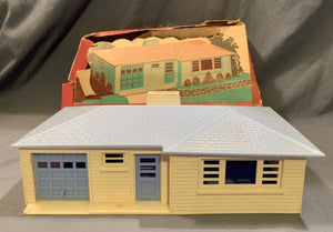 "Plasticville Ranch House Kit Miniature from ""She Kills"""