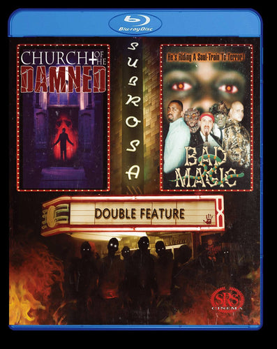Church of the Damned & Bad Magic Double Feature Bluray
