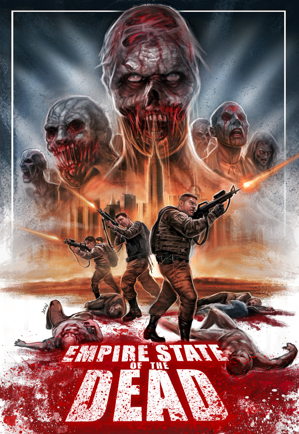 Empire State of the Dead Blu-Ray