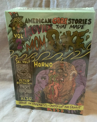 American Gore Stories Vol 2: Movies That Made Mom Puke DVD Set