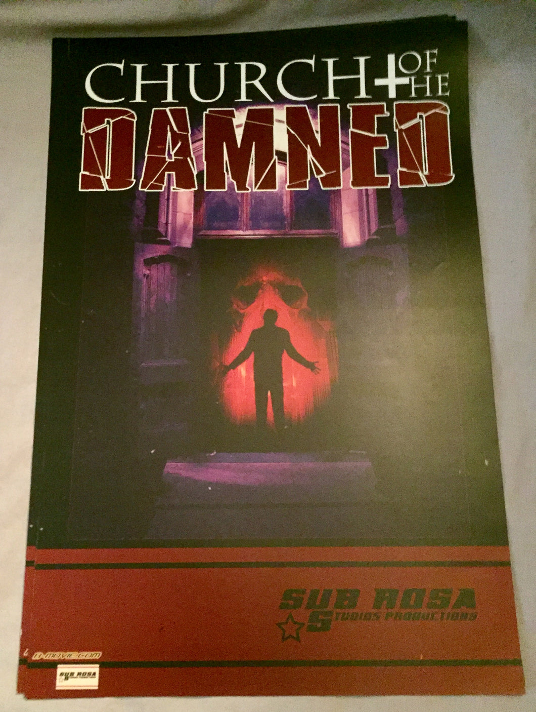 Church of the Damned Poster