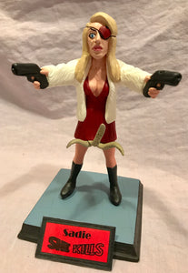 "Sadie ""She Kills"" 7"" Model Figure"