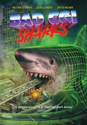 Bad CGI Sharks DVD