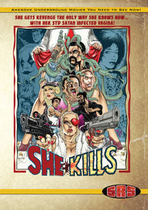 She Kills Wide Release DVD