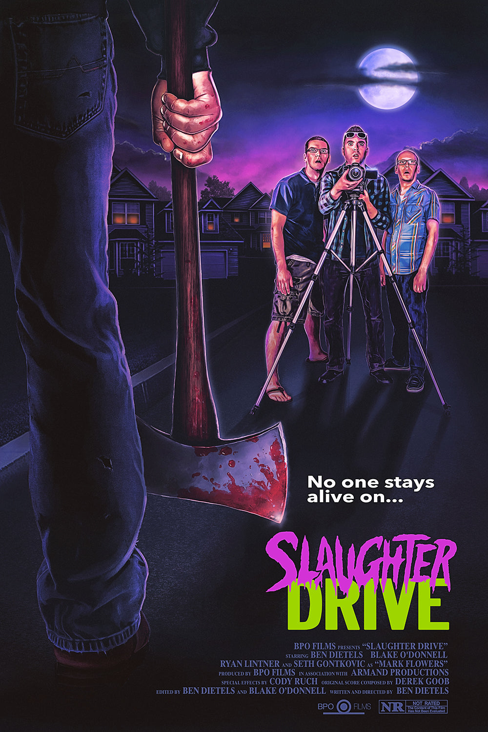 Slaughter Drive DVD