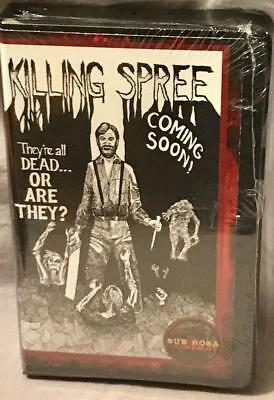 Killing Spree Original Cut VHS+