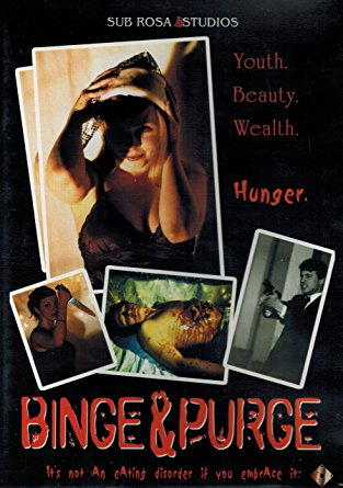 Binge & Purge DVD - original cover USED