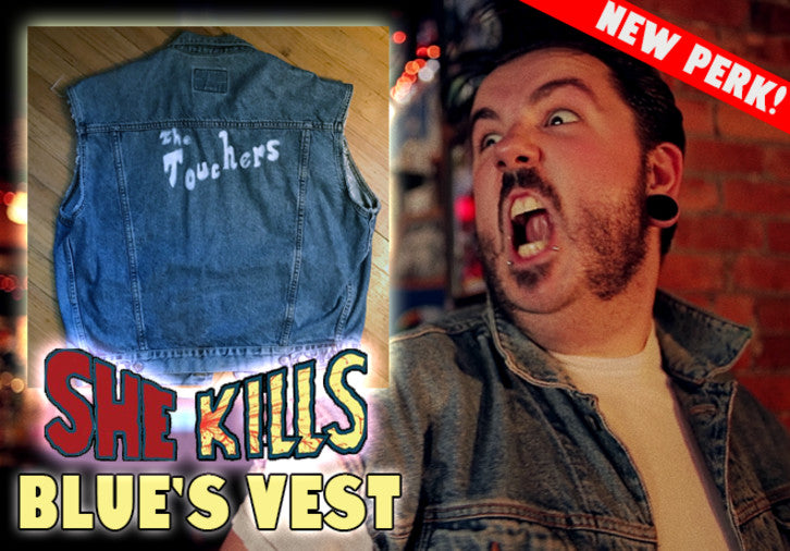 BLUE'S VEST from SHE KILLS