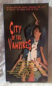 City of the Vampires VHS