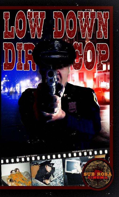 Low Down Dirty Cop 1&2 VHS Set Big Box 2 Tape Set