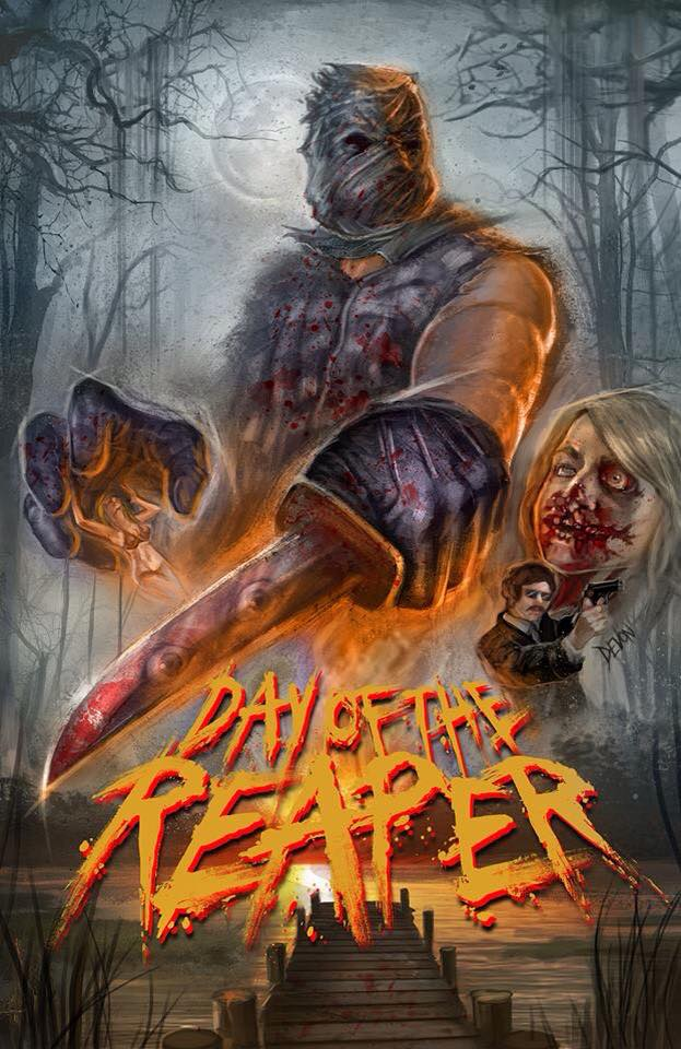 Day of the Reaper Mini-Poster